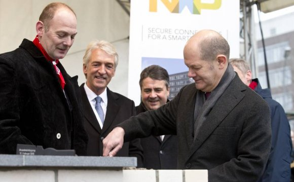 Foundation Stone Laid At NXP