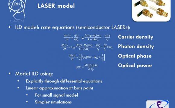 Slide 20 LASER model ILD