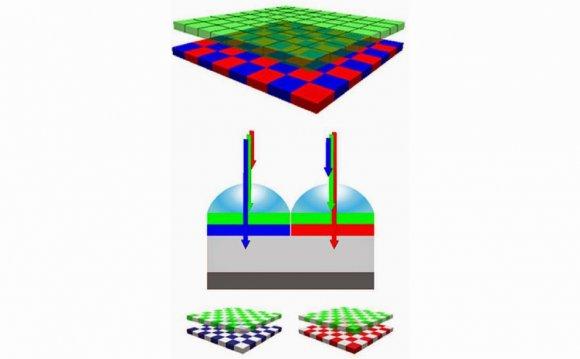 Organic-on-Si CMOS Sensors