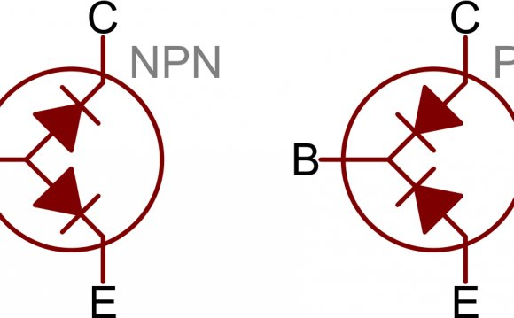 The diode connecting base to