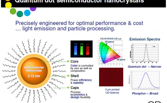 Quantum dot semiconductor