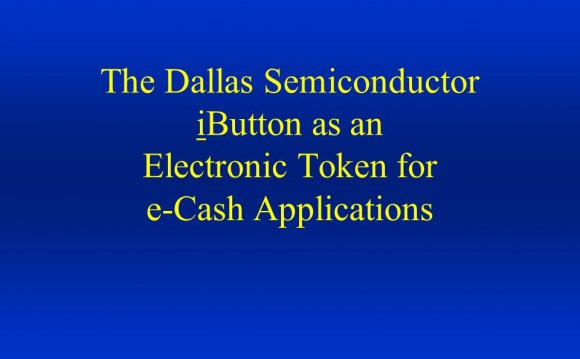 Dallas Semiconductor iButton