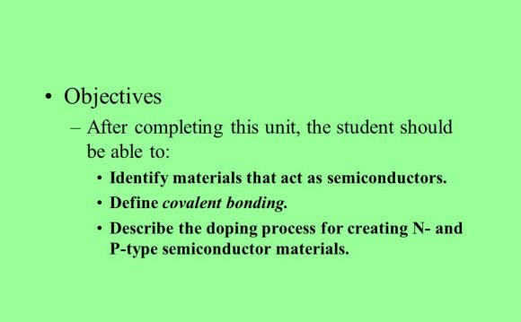 Define p Type Semiconductor
