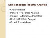 Semiconductor industry analysis