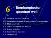 Semiconductor Quantum Wells