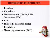 Semiconductors, diodes