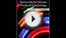 Download Semiconductor Devices Physics and Technology PDF