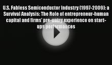 Download U.S. Fabless Semiconductor Industry (1997-2009