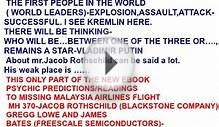FLIGHT MH 370-JACOB ROTHSCHILD,FREESCALE -PSYCHIC