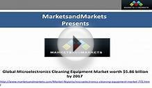 Global Microelectronics Cleaning Equipment Market worth $5
