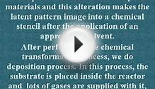 Lithography process for production of semiconductors