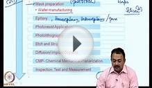 Mod-02 Lec-06 Basics of Semiconductor and Process