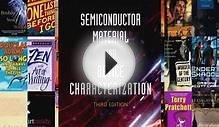 [PDF] Semiconductor Material and Device Characterization