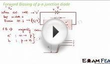 Physics Semiconductors part 10 (Forward biasing of diode