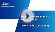 Revenue from Contracts with Customer Semiconductor Industry
